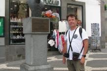 Madera, Funchal. Popiersie Józefa Piłsudskiego.